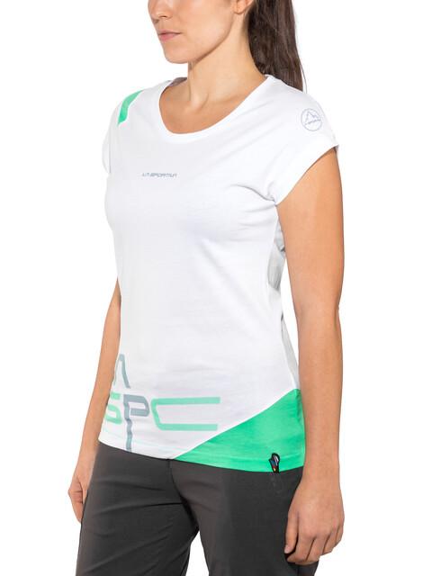 La Sportiva W's Shortener T-Shirt White